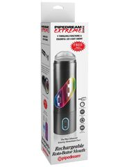 Мастурбатор-ротатор ротик Pipedream Extreme Toyz Rechargeable Roto-Bator Mouth